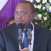 Good News To JKUAT Students As President Uhuru Kenyatta Promises To Look Into Water Shortage Issues