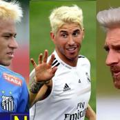 Photos of these famous footballers on blonde hair will make you love blonde hair