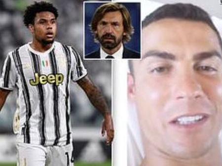 24 Hours After Cristiano Ronaldo Tested Positive For Covid-19; See The State Of Juventus Squad