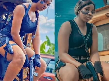 See Beautiful Pictures Of Nigerian Girls Who Recreated Different Old Pictures Of Ifedioku