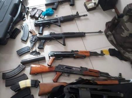 Drug dealing investigation leads to the discovery of firearms in Johannesburg