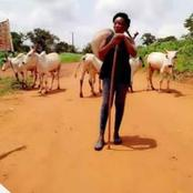 See This Igbo Married Woman That Is Proudly a Herdswoman. See Photos.