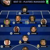 Jose Mourinho Best Xi Of Players He Has Managed