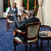 Mutahi Ngunyi And Netizens Reacts to DP Ruto's Compliment to Kaikai About His Shoes on Citizen Tv