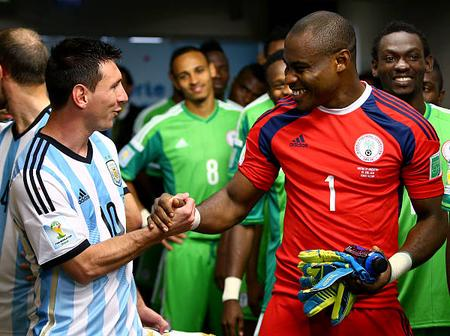 Remember Vincent Enyeama, Nigerian Former Goalie, See His Career Pictures Here (Photos)