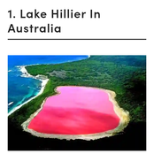 See the 7 Pink Lakes in the World, Including One Found in Africa