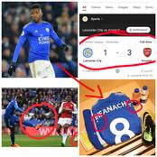 Despite Loosing 3-1 Against Arsenal, See What Iheanacho Did That Made Igbo Fans To Love Him More