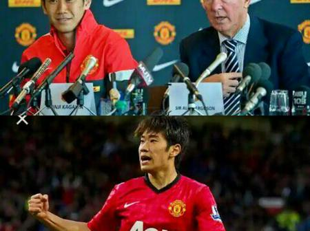 Only true Manchester United Fans will Remember him - Shinji Kagawa, Alex Ferguson's Japanese Magician