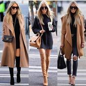 Beautiful stylish winter vision outfit