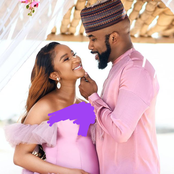 Obi Cubana, Amara Kanu, others react as Banky W and Adesua reveal full name of their son