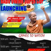 Babu Owino To Launch Super Cup Tournament In His Constituency