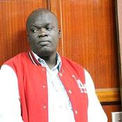 Robert Alai Attacks Former Harambee Stars Striker Dennis Oliech, Tells Him Nobody Owes Him Money.
