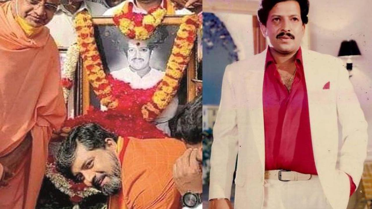 After vandalism of Vishnuvardhan's bust, foundation stone for new statue laid nearby