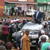 Few People Who Attended President's Address In Nyeri Attracts Mixed Reactions On Social Media