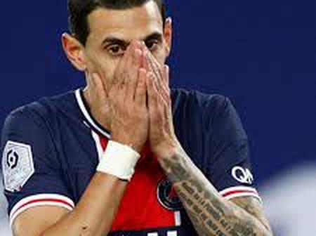 Sad News Hit Angel Di Maria During PSG Defeat