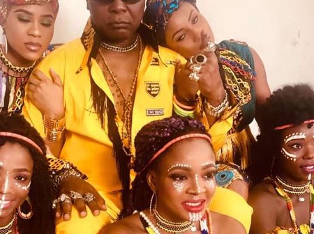 See Lovely Photos Of Charly Boy And His Family