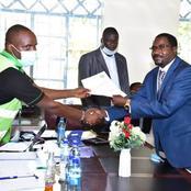 IEBC says the former sports CS Rashid Echesa should be arrested