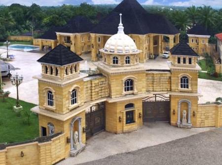 This Lovely Picture Of A Village Castle In Anambra Will Leave You In Awe