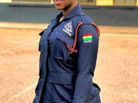 Meet Ama Dufie, The Curvy police woman that is causing reactions on social media (photos)