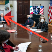 See Reactions As This Was Observed On Biden While Having A Meeting With Mexican President