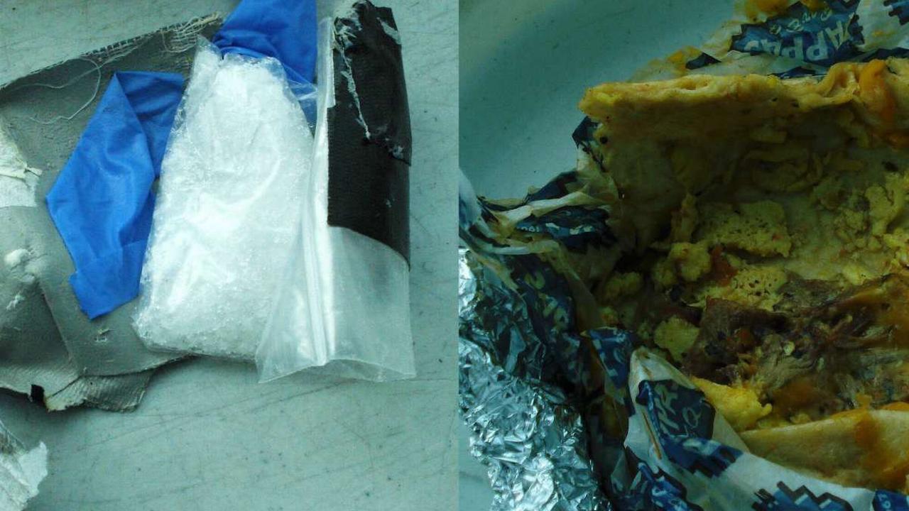 Breakfast taco hiding crystal meth seized from Hobby Airport passenger, TSA reports