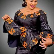 Ladies, See 15 Lovely Ankara Shirt And Lace Dress Styles For Fashionistas To Try Out.