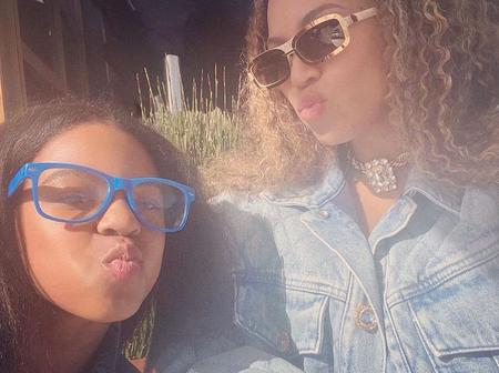 Beyonce Shares Stylish and Beautiful New Photos with her Daughter Blue Ivy