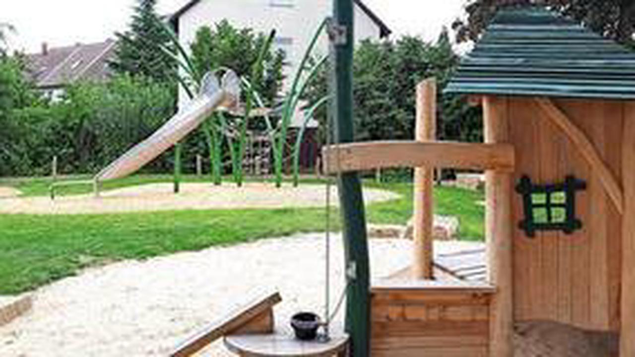 Das erwartet Kinder auf dem neuen Spielplatz im Goldfeld