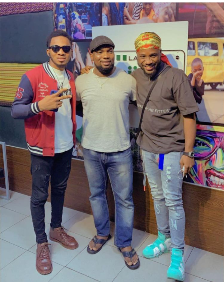 Nigerian Idol: Check out lovely pictures from Emmanuel Elijah and Faith Onyeje media rounds in Lagos 19