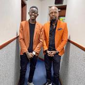 Alex Mwakideu Posts A Photo with MCA Tricky, Sparks Mixed Reactions Online