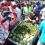 'Kata Nyingine', Ruto Excites Hustlers As He Eats This In Public And Asks For More