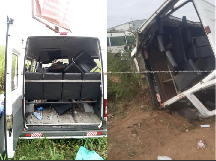 ca626659c4af4cc4b5b344b14f3e5d6a?quality=uhq&resize=720 - 4 Persons Feared Dead And 16 Injured In A Gory Accident On The Accra To Tema Motorway At Dawn