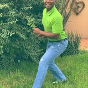 Thabo Maputla Pose Move Left Mzansi Speechless See Pictures Here
