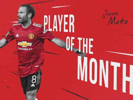 Fans Vote Juan Mata As Manchester United's Player Of The Month For The Month Of September
