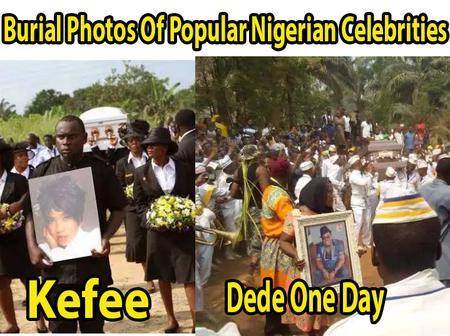 Burial Pictures Of Popular Nigerian Celebrities (Photos)