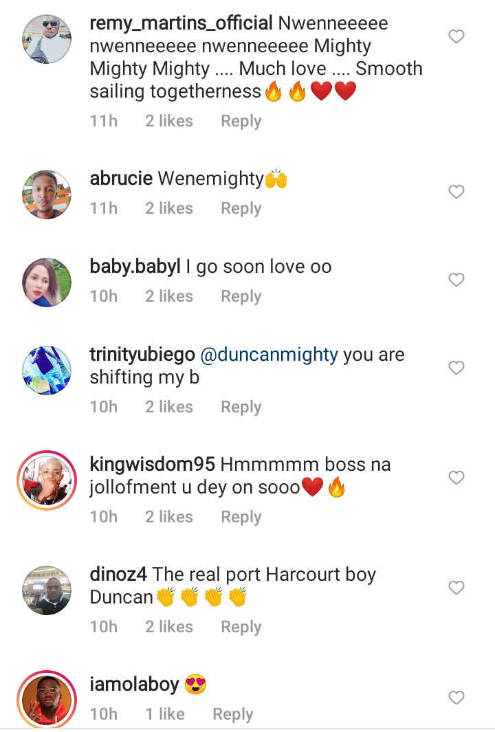Duncan Mighty shares romantic pictures with his new partner, sparks mixed reactions 22