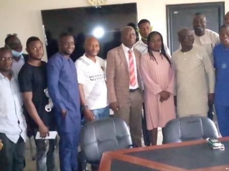 FUOYE: Ekiti youths pledge support for Fasina's administration (PHOTOS)