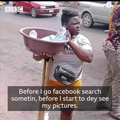 Check out how Nigerians transform the life of a lady Mary Daniel who was selling pure water in Oshodi, Lagos
