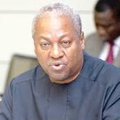 Former president John Dramani Mahama tagged
