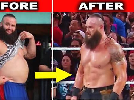 Here Are Photos Showing Braun Strowman New Body Transformation