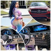 US Based Nigerian Nurse Shows Off Her Newly Acquired GLE 350 Mercedes Benz (PHOTOS)