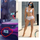 Check Out What I Observed From The Video Mercy Eke Posted About The G-wagon And Her Range Rover Car