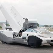 This Is The Kind Of Car We Need In Lagos - See Photos Of A Car That Can Fly In The Air