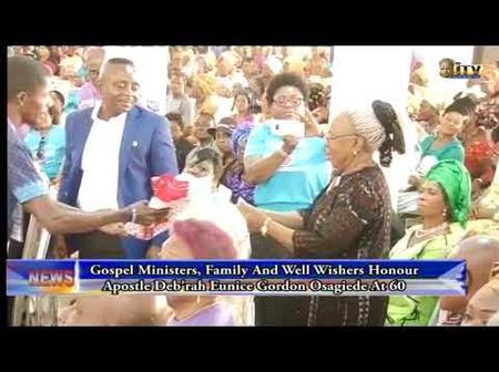 The Famous Nigerian Pastor That Died, See Her Son And Large Congregation She Left Behind