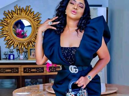 See what actress Chika Ike wore to Uche Mba's wedding. (Photos)