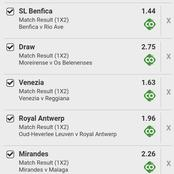 Best Winning Selection Today in 9 Perfect Matches With 365 Odds
