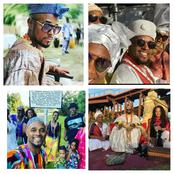 Meet The King Of Yoruba Village In The US, Oba Adejuyigbe Adefunmi Who Has 7 Wives And Many Children