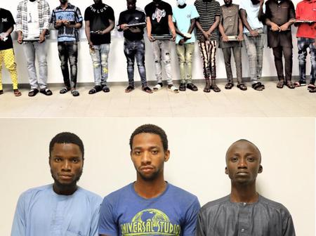 How 21 Yahoo Boys were picked up from their hideouts in two cities during early morning raids