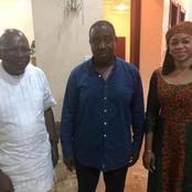 Former MD/CEO NEXIM BANK, Chief Roberts Orya pays Suswam a condolence visit