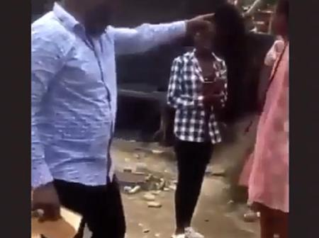 Photos: Pastor Embarrasses Slay Queen On The Road Side